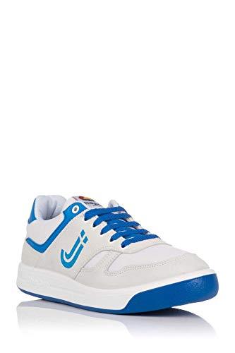 J´hayber 66002, Sneaker Unisex Adulto, Blanco-Royal, 42 EU