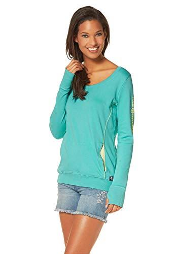KangaROOS Damen Sweatshirt (36/38, Grün)