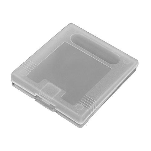 iMinker carte de jeu en plastique clair de la cartouche de stockage cas boîte couverture de poussière pour Gameboy Color, Gameboy Pocket, GB GBC GBP (10 pièces)