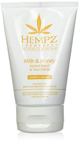 Hempz Milk and Honey Herbal Hand and Foot Creme, 3.4 Oz