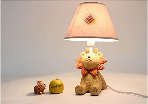 Mehe home-petite Lion slaapkamerlamp Nachtkastlamp voor kinderen