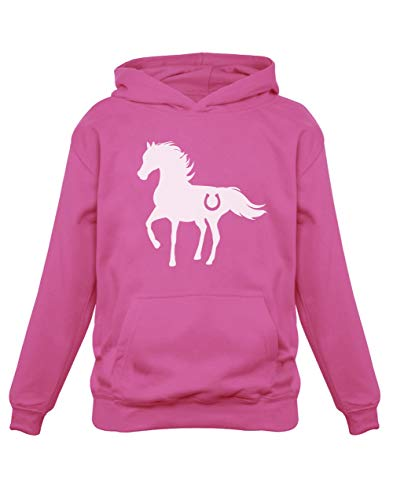Cheval Wild Style Luck Sweatshirt Capuche Enfant 7/8A Rose