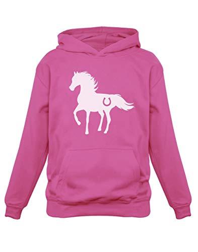 Cheval Wild Style Luck Sweatshirt Capuche Enfant 7/8A Rose