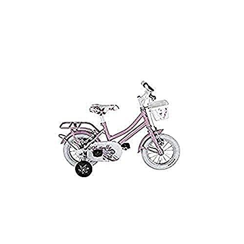 Alpina Bike Olandesina, Bicicletta Uomo, Rosa Barbie, 12'