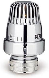 Orkly cabezal termostatico sensor cera Deluxe para grifo radiador plata