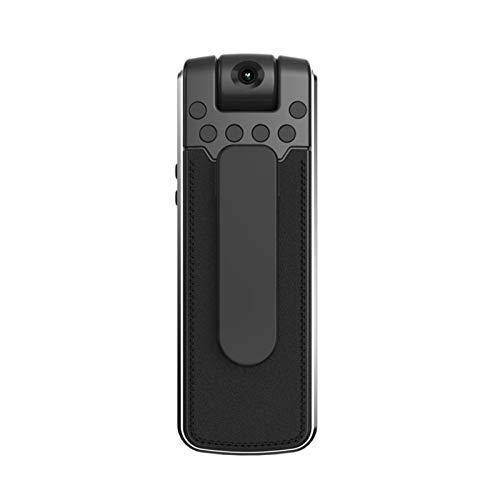 SYLOZ-URG 1080P HD Mini cámara Portátil Mini Grabadora Infrarrojo Visión Noche Cámara Non-Handheld Pequeño Pequeño DV SYLOZ-URG (Color : With16GB TF Card)