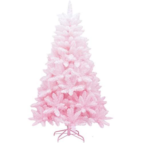 RENJUNJUN Árbol de Navidad Artificial, Unlit Premium Rosa Decoraciones de Navidad, Respetuoso...