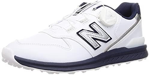 [ニューバランス] ゴルフシューズ UGBS996 WHITE/NAVY(X) 26.0 cm D