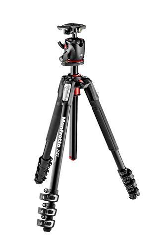 Manfrotto MK190XPRO4-BHQ2 Stativ,Digitalkamera (2,55°kg, Aluminium, Schwarz)