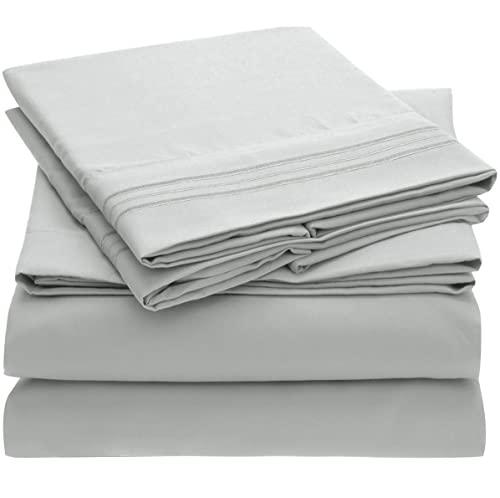 Mellanni Queen Sheet Set - Hotel Luxury 1800 Bedding Sheets...