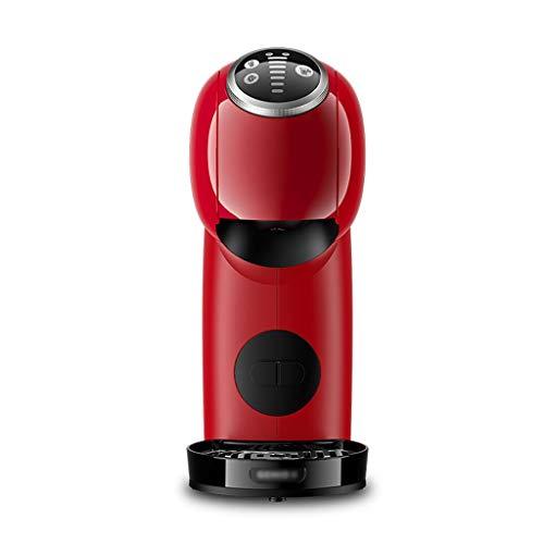 OMING Kapselkaffeemaschine Haushalt Kleine Kapsel Kaffeemaschine italienische Haushaltsmilchschaum-Maschine Kaffeevollautomat 1-Tassen-Kaffeemaschinen (Color : Red)