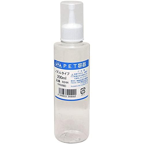 AZ(エーゼット) PETボトルノズル付 200ml B244