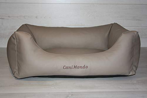 CaniMondo hondenbed Divano, Medium, cappuchino beige