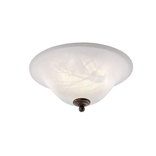 Deckenleuchte, 35x35, IP 20, Vintage, Wandlampe, Edel-Rost, Romantik, rustikal, LED fähig,...