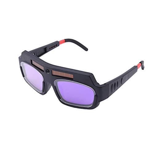 HLPIGF 1 Pieza De Soldadura De Oscurecimiento Automático Con Energía Solar Casco Gafas De Protección Gafas De Soldador Lente Antichoque De Arco Para Protección Ocular