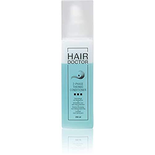 Hair Doctor 2-Phase Thermo Professioneller Haarconditioner, Anti-Frizz und Hitzeschutz schützend mit Papaya Extrakt 200ml