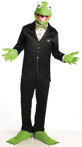The Muppets Kermit Costume Adult Standard