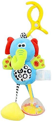 DINEGG Baby-weiche hängende Rassel Crinkle Crinkle quietschende Auto-Bett-Krippe für Jungen-Form 1pc hängende Plüsch YMMSTORY