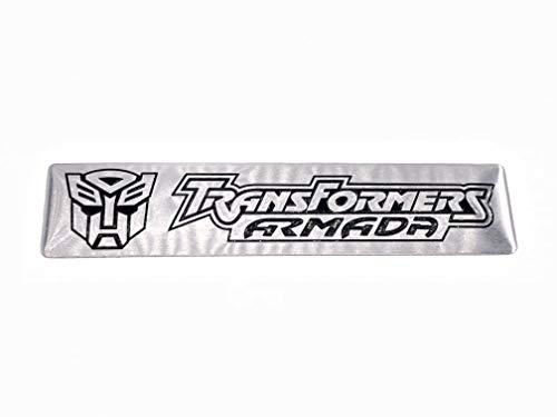 Transformers Autobot Metal Engine 3D badge Chrome Decal Emblem Decor Sticker