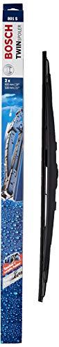 Bosch Scheibenwischer Twin Spoiler 801S, Länge: 600mm/530mm – Set für Frontscheibe
