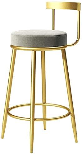 Sedie Da Bar Con Sgabelli Da Bar Regolabili Sedie Da Bar sgabelli sgabelli moderni sedie a barre industriale sgabello sgabello rotondo sedile di velluto schienale per la colazione da cucina contatore