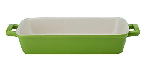 HIC - Molde para lasaña (cerámica, 33 cm) 13' x 9' x 2.5' Salvia