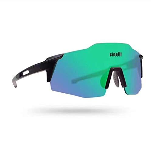 Gafas De Ciclismo Deportivo, Lente Espejo Polarizado Tr90 Frame, Ciclismo En Marcha Pesca De Pesca Trekking Gafas para Hombres Mujeres,C