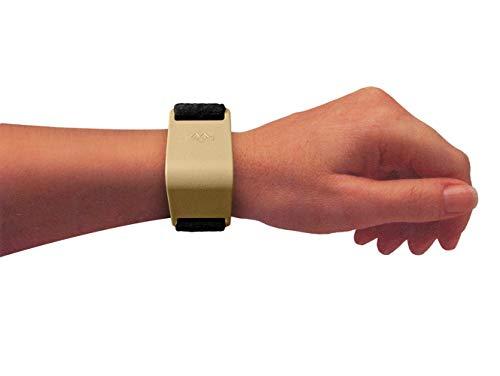 M BRACE RCA Carpal Tunnel Wrist Pain Relief (Regular, Two-Tone: Beige Brace with Black Strap)