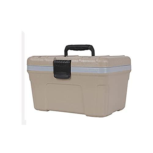 DAGCOT Refrigerador con Mango Cofre de Hielo Caja de Alto Rendimiento de Alto Rendimiento de Alta resolución Duradero Duradero Mantén frío para el Recorrido Camping 12L / 10.9 Cuarto de galón
