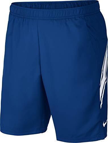Nike Herren M NKCT DRY 9IN Shorts, Blau (Indigo Force/White), S