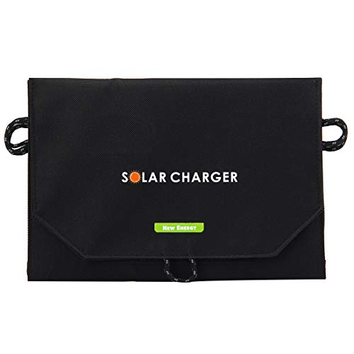 Luoshan 10.5W 2.1A MAX 2 Puertos de Salida Bolsa de Cargador de Panel Solar Plegable portátil for Samsung/HTC/Nokia/Teléfonos móviles/Otros Dispositivos