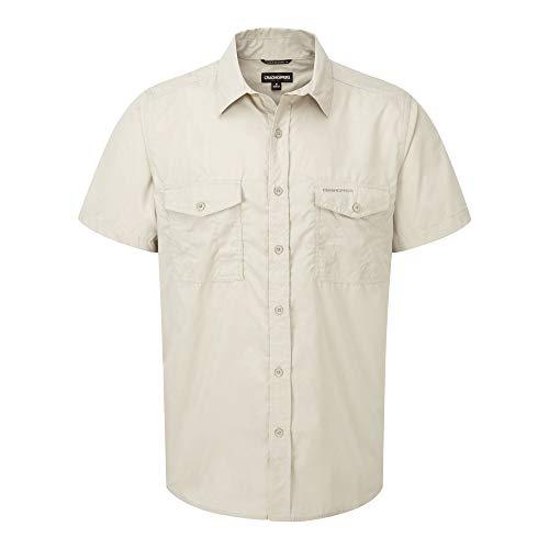 Craghoppers Outdoor Classic - Kiwi - Camicia a Manica Corta - Uomo (XXL) (Avena)
