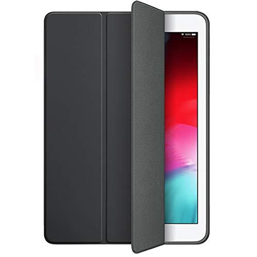 iPad 9.7 Case 2018 iPad 6th Generation Case / 2017 iPad 5th Generation Case, Slim Fit Lightweight Smart Cover with Soft TPU Back Case for iPad 9.7 2018/2017 [Auto Sleep/Wake] (Black)