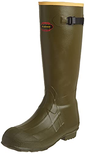 "LaCrosse Men's 18"" Burly Classic Hunting Boot,OD Green,10 M US"