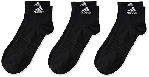adidas LIGHT ANK 3PP Socks, Unisex adulto, Black/Black/Black, M