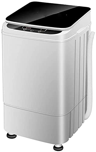 Mini lavadora portátil – puede 4,5 kg de ropa y ciclo de giro ajustable de agua, nivel de energía y ahorro de agua para apartamentos, hoteles, acampadas, etc.