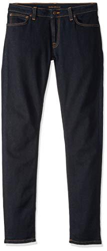 Nudie Jeans Skinny Lin, Unisex Adulto, Dry Deep Orange, 27