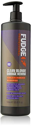 Fudge Fudge Clean Blonde Damage Rewind Shampoo 1000ml