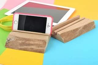 Set Of 2 Homemade Designer Wooden Gadget Holders For Tablet And Smartphone
