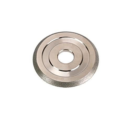 QWLHZW Herramienta de Amoladora de la Rueda de molienda con Recubrimiento de Diamante 1pc 85x20x5mm 150 Grano