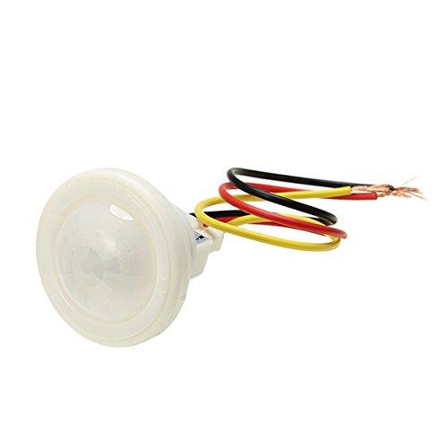 Bazaar 100 W infrarood PIR bewegingssensor lichtschakelaar 220 V AC voor plafondlamp