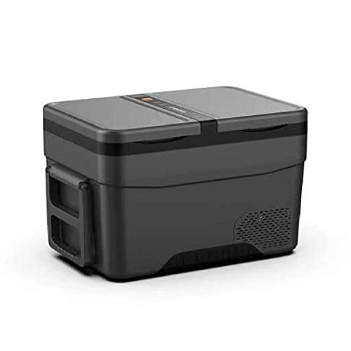 TAOBEGJ Doppeltür Auto-Kühlschrank, Tragbarer Kühlbox, Elektrische Tragbare Kompressor Kühlbox/Gefrierbox 12V/24V Und 230V Für Auto, LKW, Boot, Camping,45L