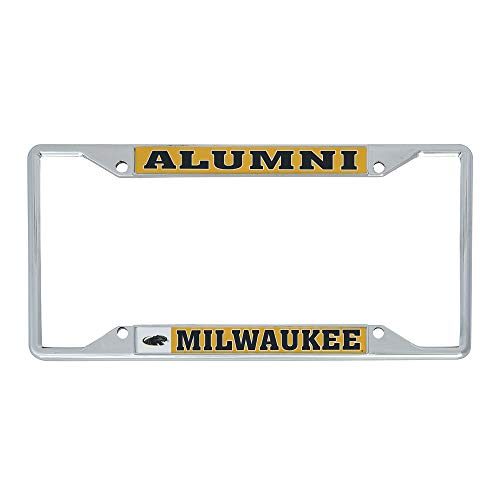 Desert Cactus University of Wisconsin Milwaukee UWM Panthers NCAA Metal License Plate Frame for Front or Back of Car Officially Licensed (Alumni)