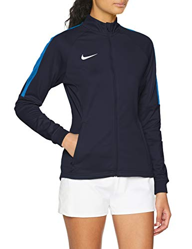 Nike Damen Dry Academy 18 Trainingsjacke, Obsidian/Royal Blue/White, M