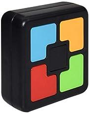yahede Elektroniskt minnesspel med ljus minne pedagogisk leksak för småbarn motorik leksak pedagogisk leksak för barn pedagogisk leksak innovativ workable