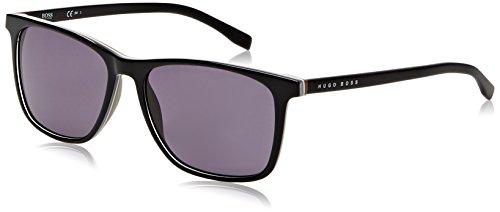 Hugo Boss Herren BOSS 0760/S Y1 QHI 55 Sonnenbrille, Schwarz (Black/Grey)