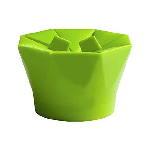 Lowest Price! Jullynice Silicone Microwave Popcorn Maker Popcorn Popper Homemade Delicious Popcorn B...