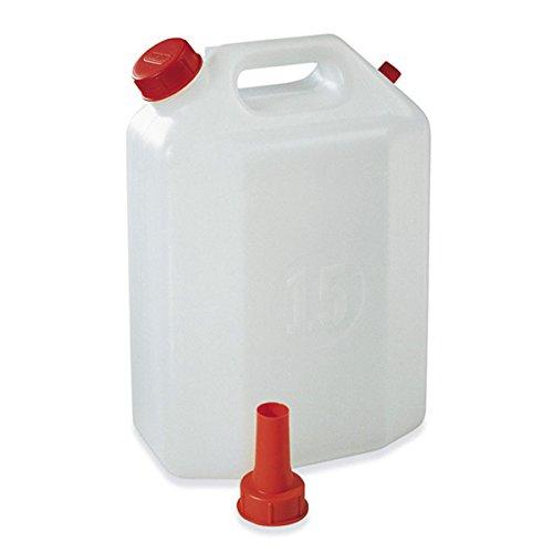 Bidón de polietileno, 30 Lt con vertedor de Plastime Tapón para vino líquidos aceite agua