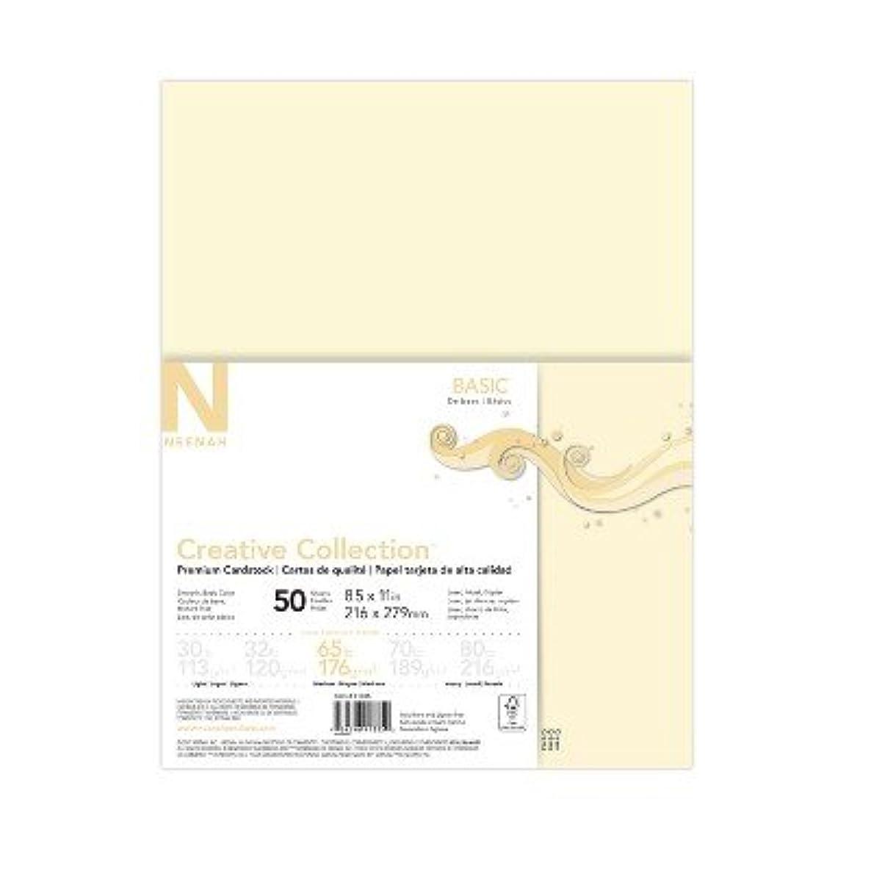 50ct Premium Cardstock 65lb Off-White - Creative Collection Off White