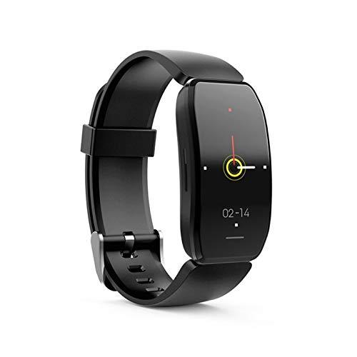 YNLRY Smart Watch Sport Smart Pulsera Tasa del Corazón Presión Arterial SmartBand Monitor Mulebanda De Salud Black